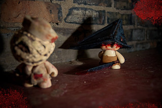 Custom Munny - Silent Hill | by Meagan.Marie