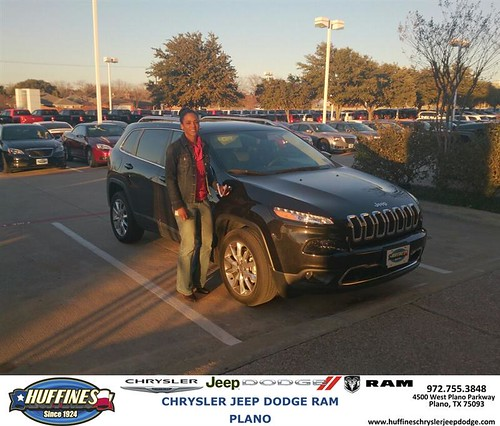 Plano Dodge: Thank You To Lisa Conley On Your New 2014 #Jeep #Cherokee