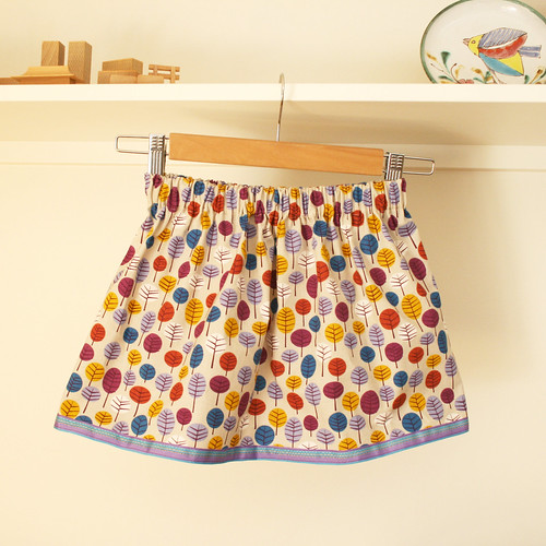 Lazy Days skirt for preschool | by suzy @ floating world