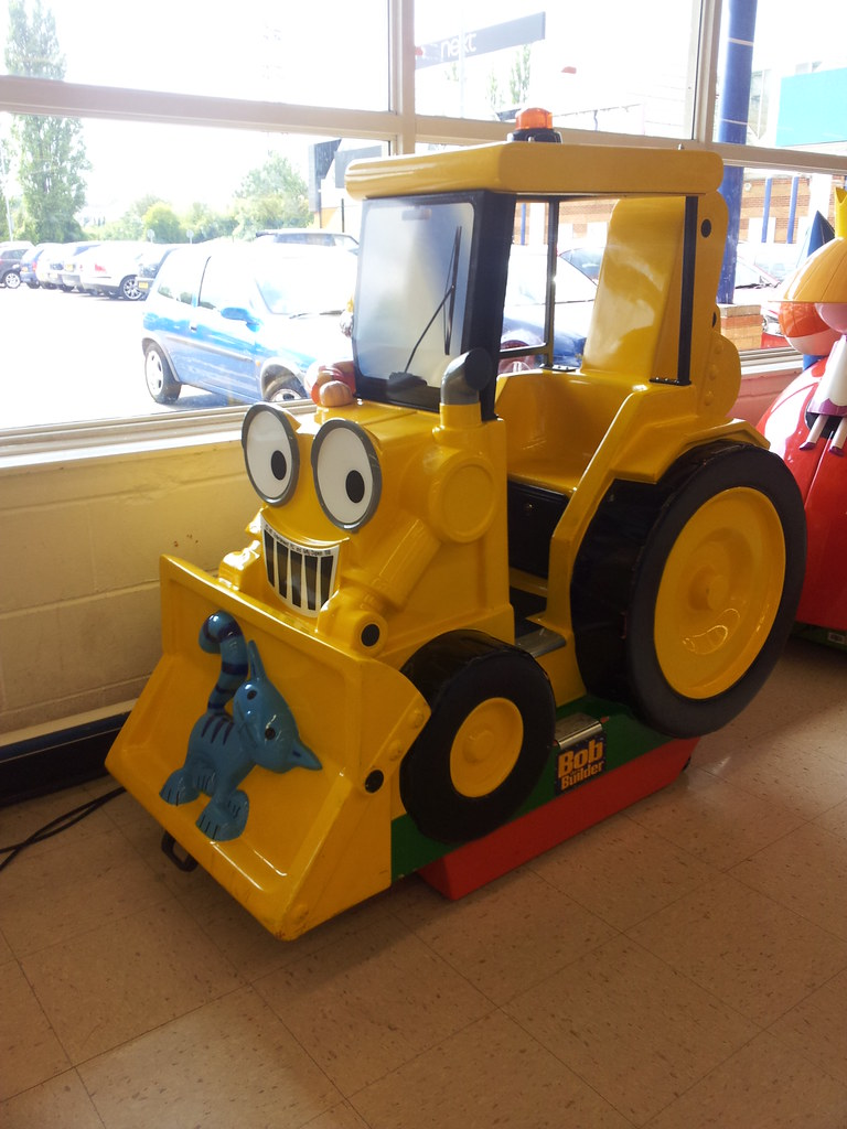 Scoop bob the builder video option ride at luton retail pa flickr scoop bob the builder video option ride at luton retail park toys r us by sciox Images