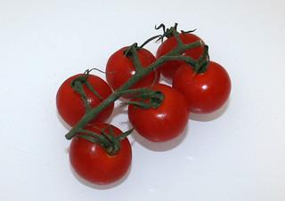 10 - Zutat Kirschtomaten / Ingredient cherry tomatoes