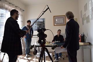 Noicattaro. Mediometraggio nello Studio Legale Genchi front