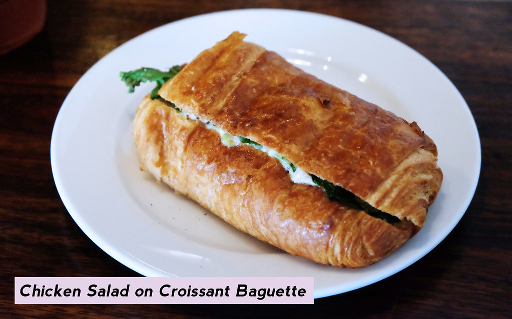 Patty Villegas - The Lifestyle Wanderer - Starbucks Lunch Choices - Chicken Salad on Croissant Baguette