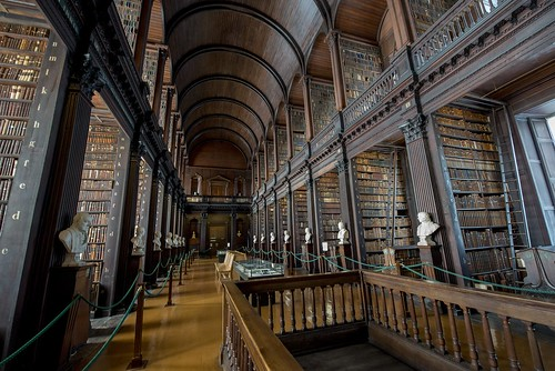 25 of the World's Coolest Libraries: Trinity College Library Long Room