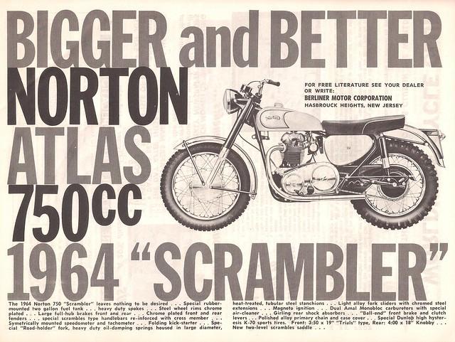 Norton Atlas scrambler