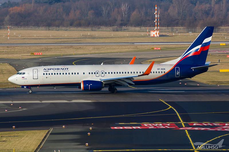 Aeroflot - B738 - VP-BGN (2)