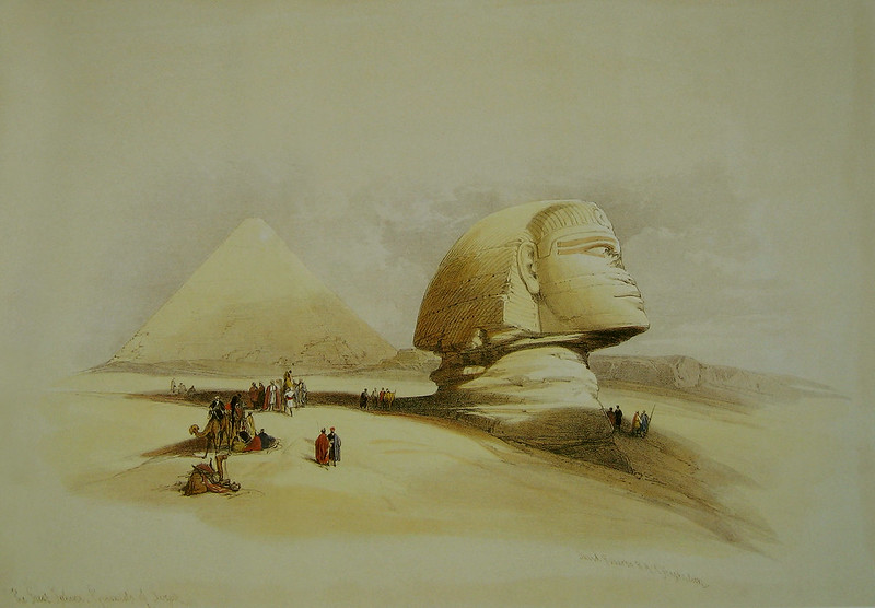 1-09m-David_Roberts_Sphinx_side_view