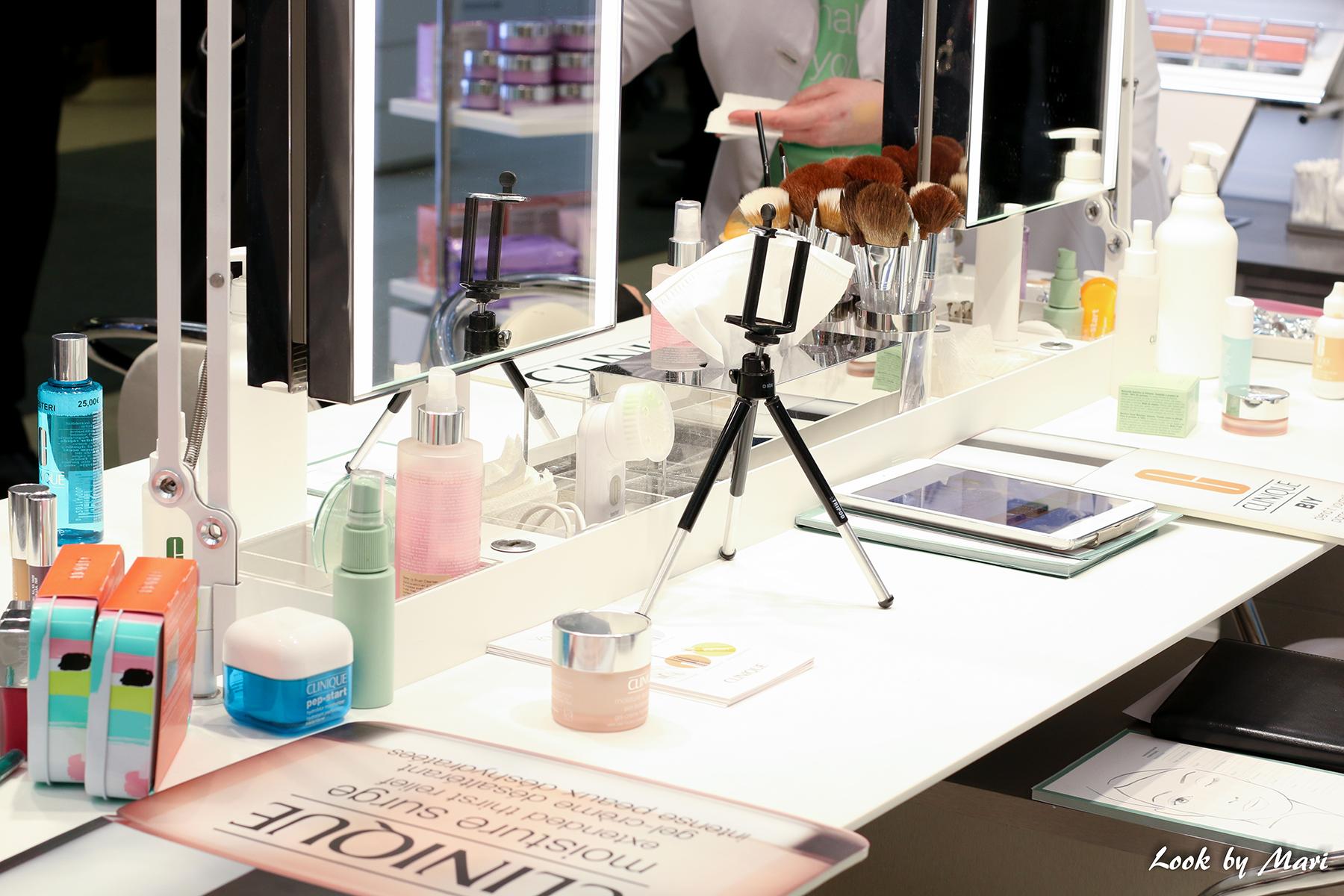 4 clinique stockmann piste myymälä avajaiset 17.3.2017 16.3.2017 palvelu kokemuksia