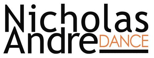 nad logo a contemporary dance company nicholas andre