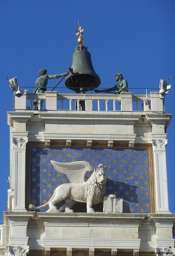 Dettaglio dei Mori, Torre dell'Orologio - Venezia