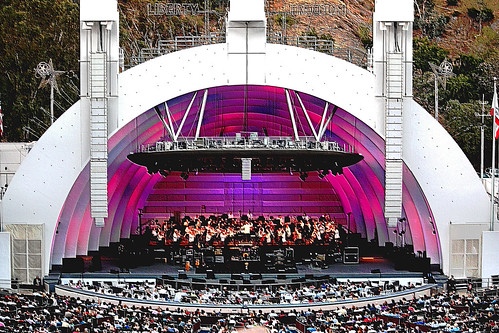 Hollywood Bowl Concerts >> The Hollywood Bowl. Largest natural amphitheatre in U.S.A.… | Flickr
