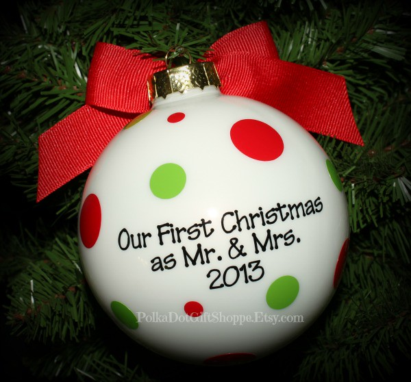 ... PolkaDotGiftShoppe Our First Christmas Ornament as Mr and Mrs 2013 | by  PolkaDotGiftShoppe - Our First Christmas Ornament As Mr And Mrs 2013 Christmas €� Flickr