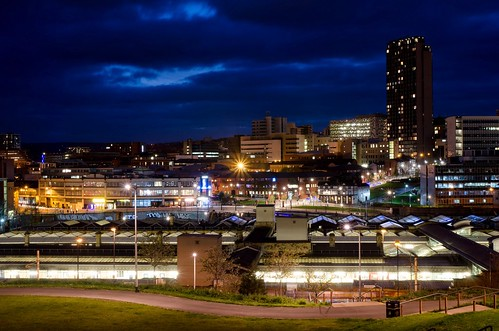 Sheffield Skyline | by They Were Invisible