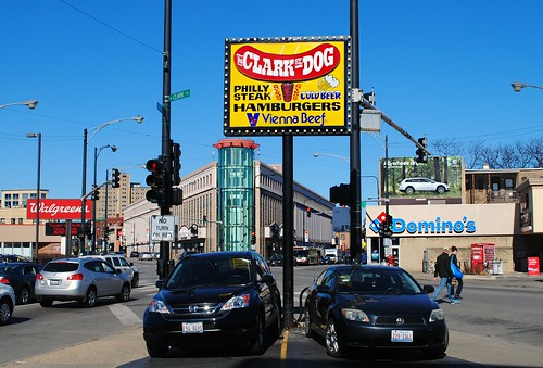 Clark Street Dog Halsted Clark St Chicago Cragin Spring Flickr-5573