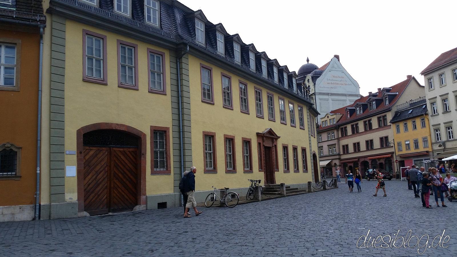 Weimar Goethe Wohnhaus duesiblog 66