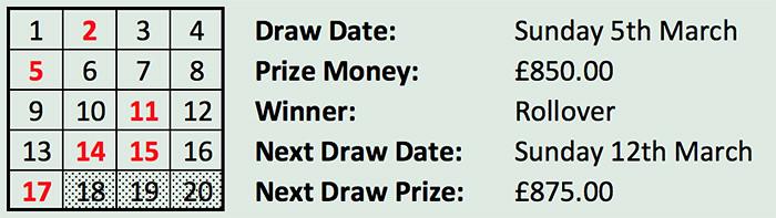 Lotto 5 Mar