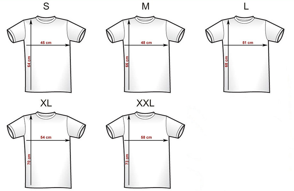 The Hundreds Clothing Size Chart: T-Shirt Size Chart | Charlie | Flickr,Chart