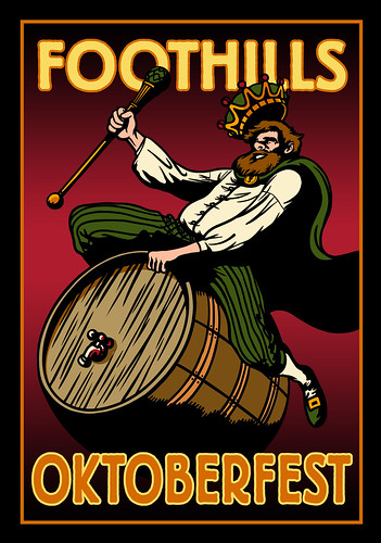 Foothills Brewing Oktoberfest Label 2013 | by VisitWS