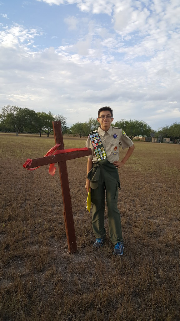 Eagle Scout Project at San Felipe Neri
