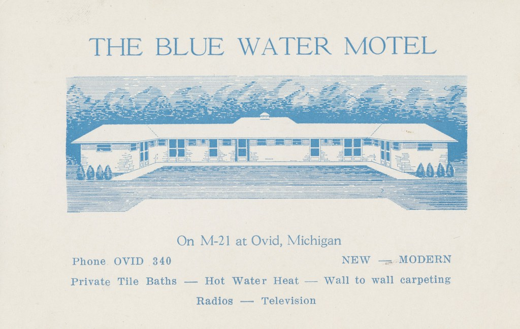 Blue Water Motel - Ovid, Michigan