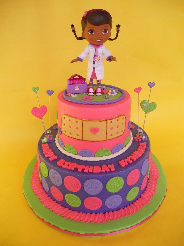 Doc McStuffins Birthday Cake Amy Stella Flickr