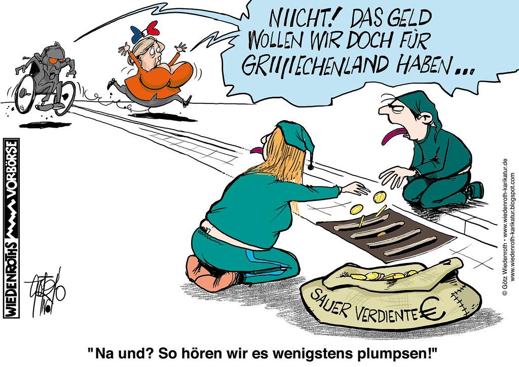 Wiedenroth Karikatur Bildunterschrift Na Und So Hören W Flickr