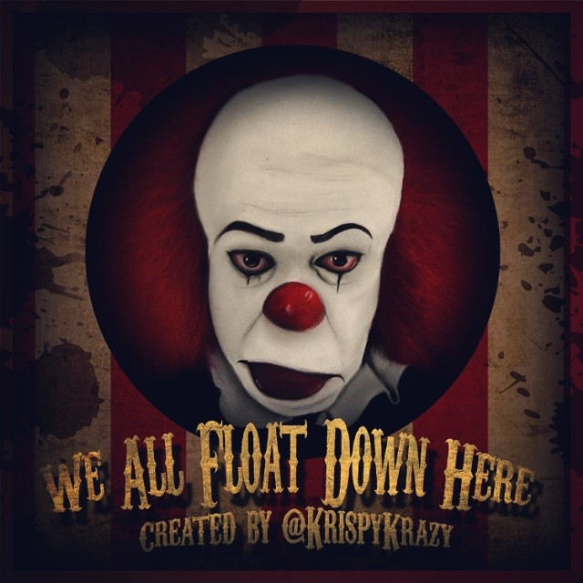 we all float down here by kristian gabriel pennywise the flickr