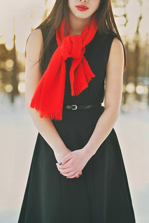 Red Scarf | by JenAnnephotography