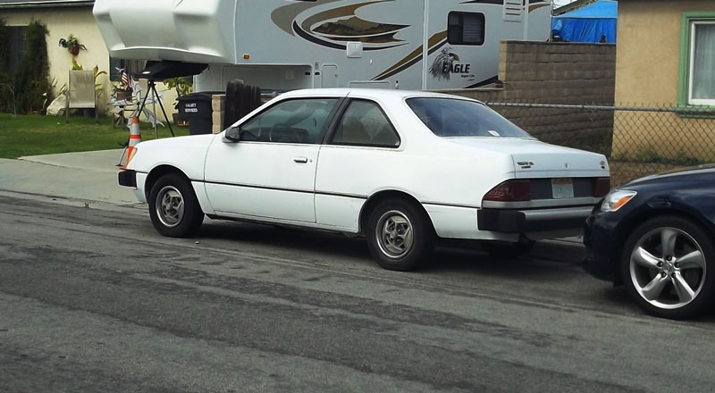 1984 ford tempo rare 2 door pv dave flickr Mercury Lynx 1984 ford tempo by pv dave
