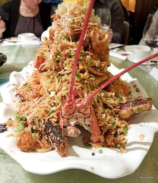 Yu Seafood lobster mountain