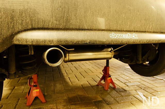 Toyota Aygo Inoxcar Stainless backbox