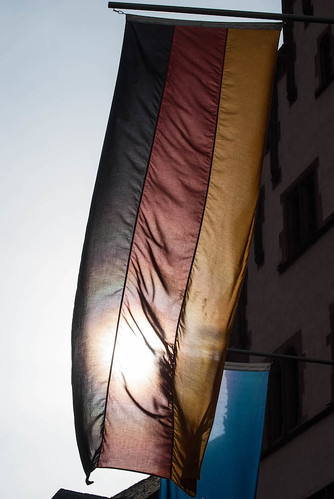 Sunshine on the German Flag