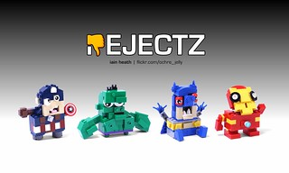 REJECTZ Series 1 - Superheroes | by Ochre Jelly