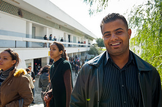 Mahran  a Faculty of Law student at the University of Tunis | by World Bank Photo Collection