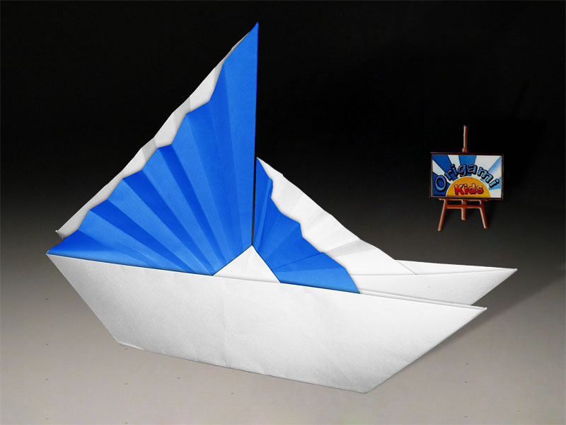 Origami Chinese Ship This Model Is The Traditional Chinese Flickr