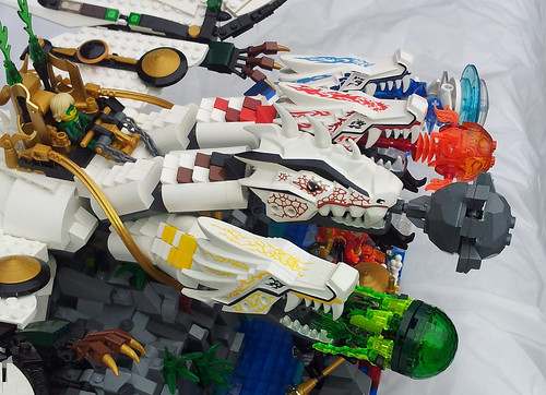 Lego ninjago ultra dragon the dragon was created well - Lego ninjago dragon a 4 tetes ...