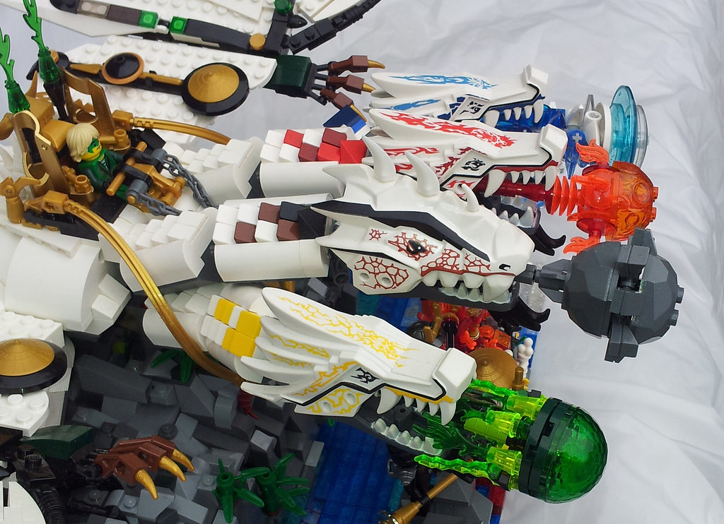 lego ninjago ultra dragon by slayerdread