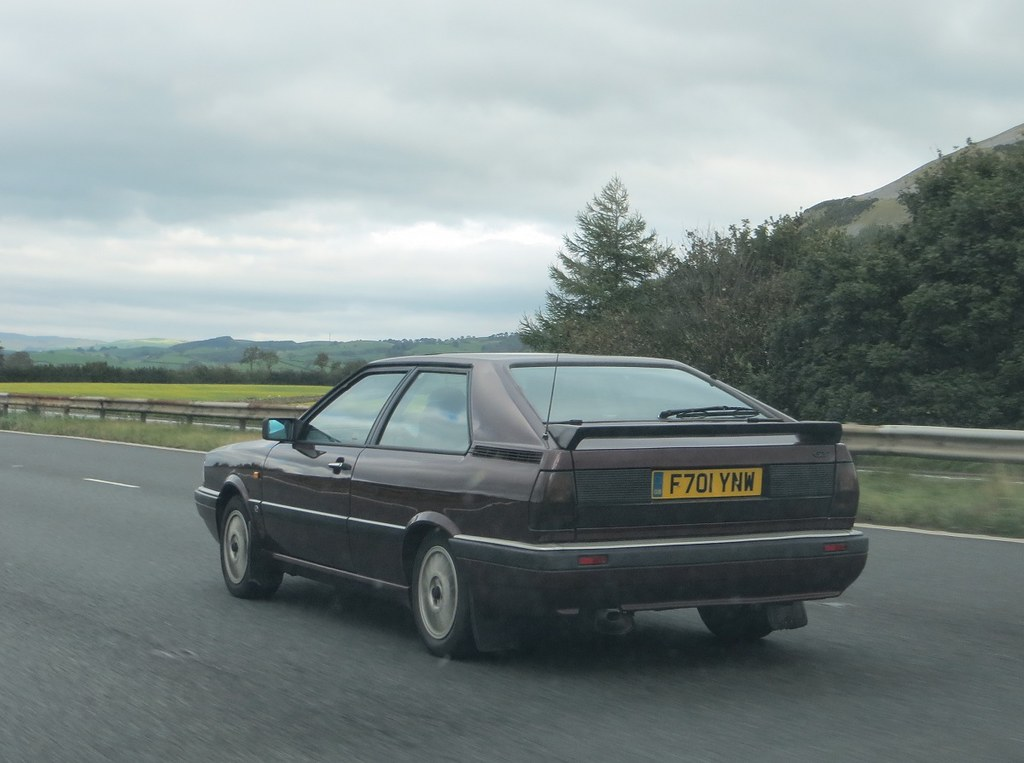 1988 Audi Coupe Gt 18 Just Been Taxed For A Full Year So Flickr