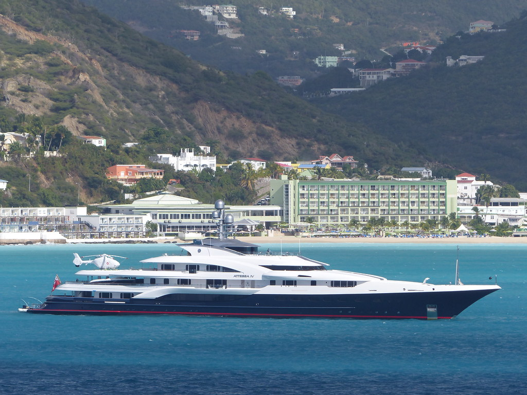 M Y Attessa Iv At St Maarten 30 January 2014 The Supery Flickr