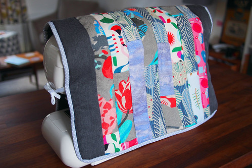 Heal's sewing machine cover | by What Katie Does