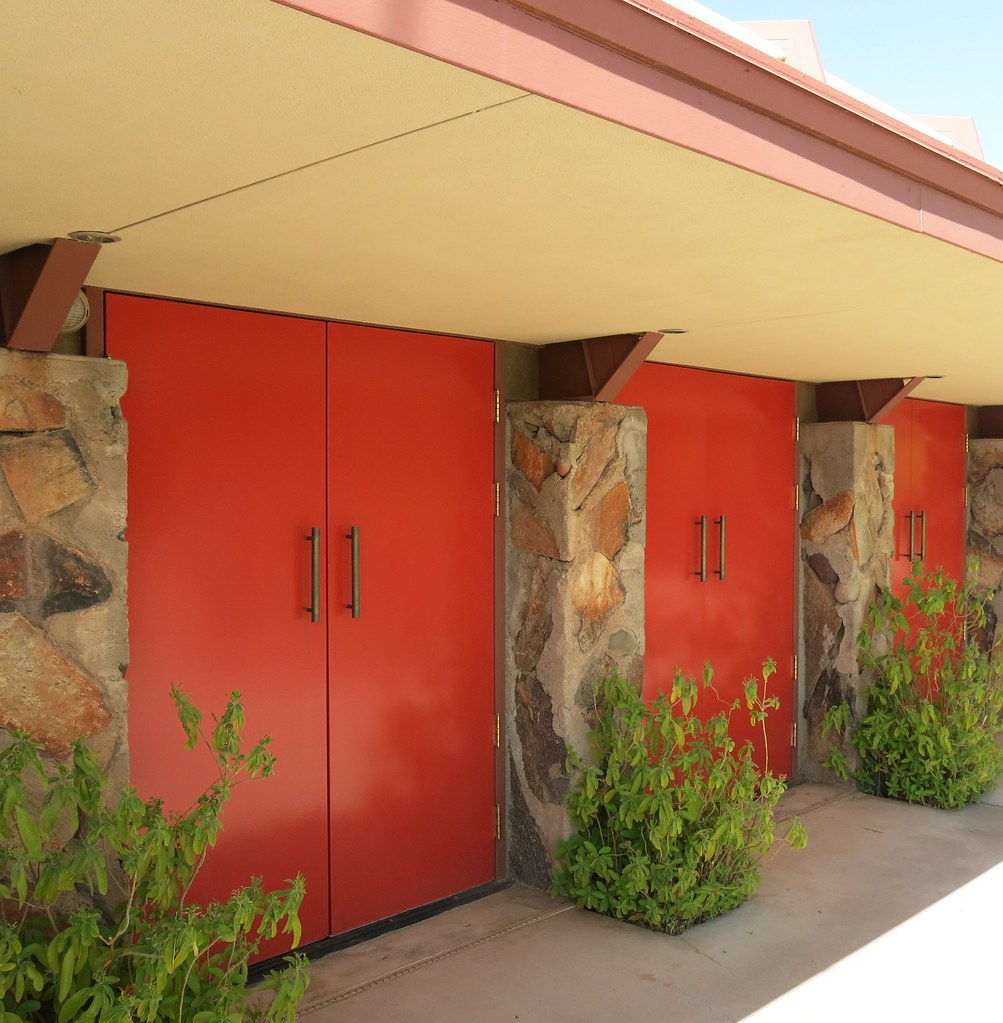 ... Taliesin West Doors To Music Pavilion | by hmdavid & Taliesin West Doors To Music Pavilion | Heather David | Flickr