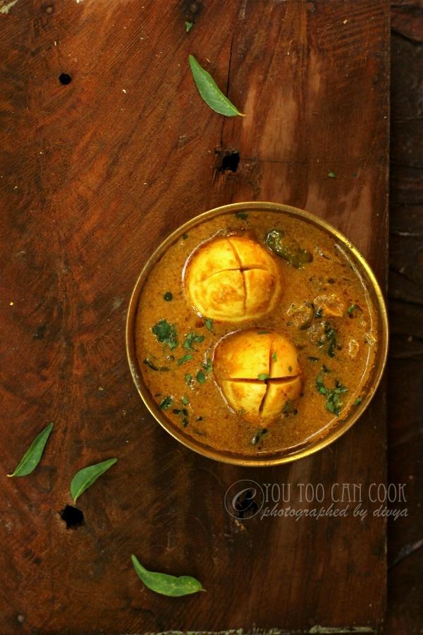 egg kuruma recipe