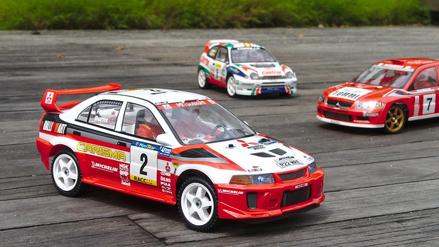 [PHOTOS] Japanese rally cars from the 90s, Tamiya-style 33060552226_d66a9995de_z