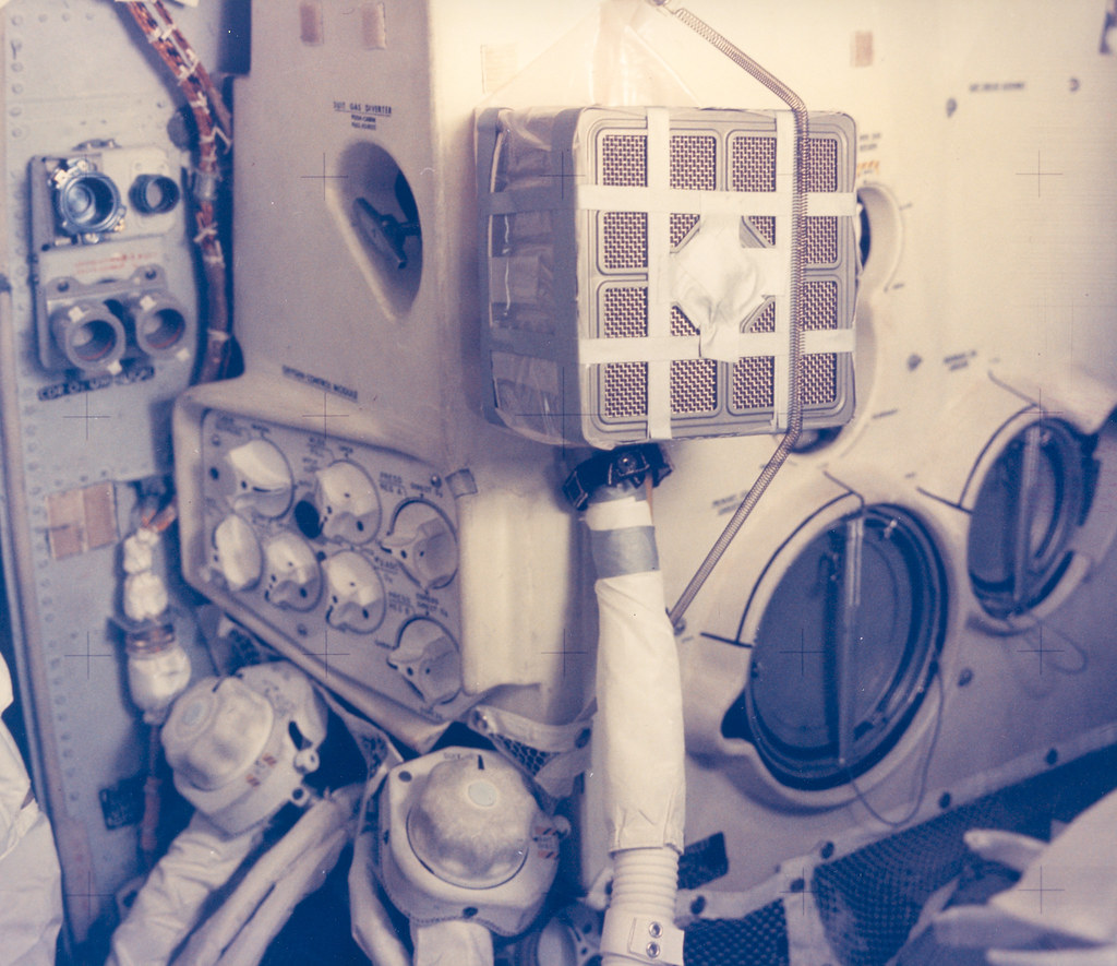 Interior View of the Apollo 13 Lunar Module and the Mailbo Flickr