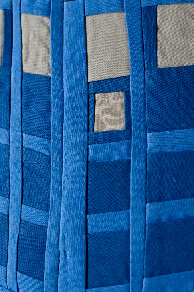 Dr Who Tardis Quilt Close Up It Only Took 6 Hours Flickr