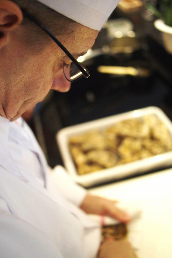 Le Chef Philippe A L Ecole De Cuisine Lyon Sandra Flickr