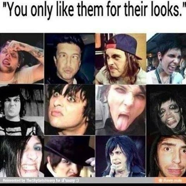 Kellin Quinn And Vic Fuentes Collage