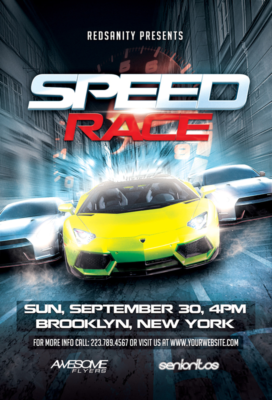 speed race flyer template download the photoshop file here flickr