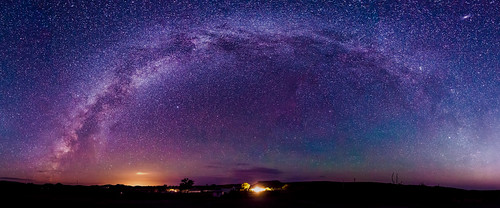 Milky Way over Big Bend Ranch State Park | by johnsdigitaldreams.com