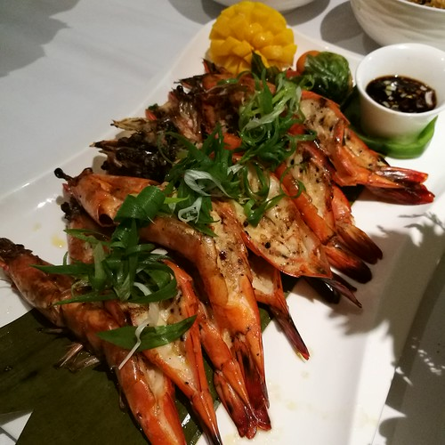 DavaoFoodTripS.com : Grilled Seafood - shrimp | Seda Abreeza Summer Treats in Misto, Flavors of the Philippines and Their International Rice Bowls